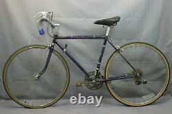 1978 Sekai SKV Vintage Touring Road Bike Small 50cm 27 Lugged Steel USA Charity