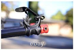 3 Bicycle Car Rack Folding Bike Carry Arms Rear Trailer Hitch Mounted 1.25 & 2