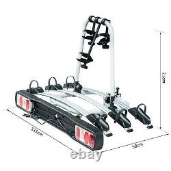 3 Bicycle Carrier Rear-mounted SUV Mountain Hitch Mounted Rack
