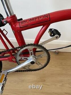 3 Speed Brompton Bike With Rear Rack