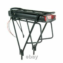 36V 13AH 350W 500W 750W Electric Lithium E-bike Battery LED with Rear Rack Seat