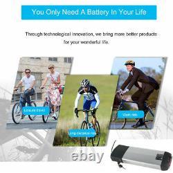 36V 13Ah E-bike Battery Bicycle With Rear Carrier Rack Bracket Fit Motor 36V 500W