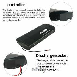 36V 13Ah Rear Rack Lithium E bike BATTERY For Electric Bicycle Kit for 200W-500W