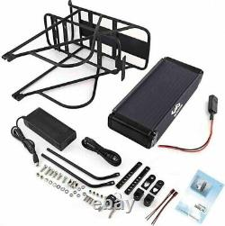 48V 18Ah 864Wh Rear Rack Lithium E-bike Battery for 750W 1000W Electric Bicycle