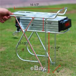 48V 20Ah 1000W 1500W Rear Rack Carrier Battery Lithium Electric Bicycle Bike lot