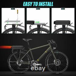 48V 20Ah 1000W Rear Rack E-bike Li-oin Battery Pack +3A Charger Brand Cells UK