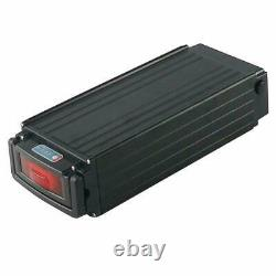 48V 20Ah 1000W Rear Rack Li-oin Battery for E-bike Electric Bicycle 3A Charger