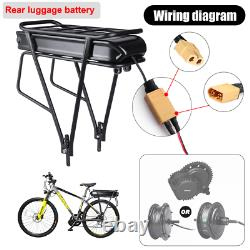 Bafang 36V 250W Electric Bike Mid Drive Motor Conversion Kit 15.6Ah 20Ah Battery