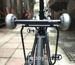 Birdy Folding Bike Roll Solution 2 wheels roller + 2 wheels Rear rack (Multi-S)