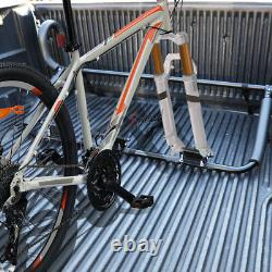 Black Quick Release Style Fork Mount Inside Pickup Bed Bike/Bicycle Rack Carrier
