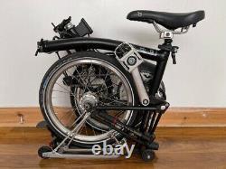 Brompton folding bike M6R (6-speed, Rack+Dynamo)