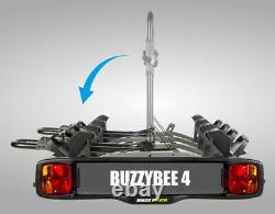 Buzz Rack Bike Rack BuzzyBee 4 Towball Platform Rack 4 Bike Carrier