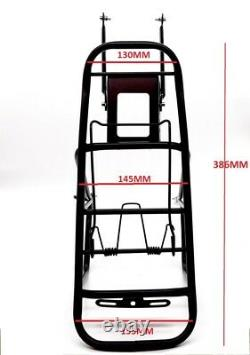 Cycling MTB Bike Bicycle Cycle Pannier Rear Rack Carrier Bracket Luggage 30Kg