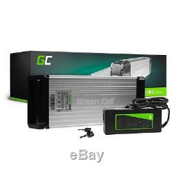 E-Bike Battery 36V 15Ah Li-Ion Rear Rack with Charger Electric Bicycle