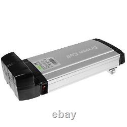 E-Bike Battery 36V 8.8Ah Li-Ion Rear Rack with Charger Electric Bicycle