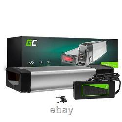 E-Bike Battery 48V 20Ah Li-Ion 1000W Rear Rack with Charger Electric Bicycle