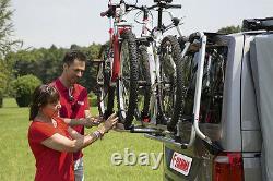 FIAMMA Carry-Bike VW T6 Pro SILVER Tailgate Campervan Bike Rack 02094B08A