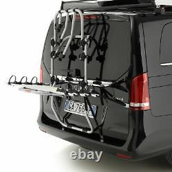 Fabbri BICI OK 3 MTB Bike Silver Aluminium Van Rear Mount Cycle Carrier Rack