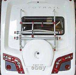 Fiamma Carry-Bike Rack 2011 Autotrail (with rear wheel moulding fitted)