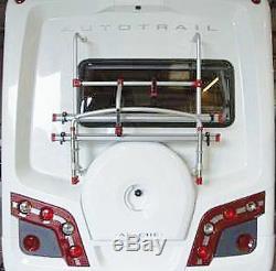 Fiamma Carry Bike Rack Autotrail Motorhome With Rear Spare Wheel Carrier