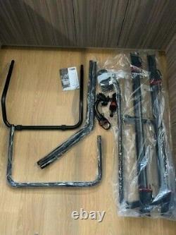 Fiamma Carry-Bike Rack Deep Black VW T5 and T6 (Double Rear Doors)