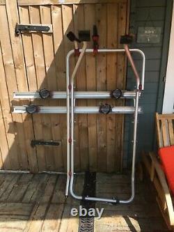 Fiamma Carry-Bike Rack T5 & T6 Twin Barn Rear Doors