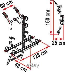 Fiamma Carry-Bike Rack Vw T4 19902003 Double Rear Doors 2 Bike Cycle 02093T01