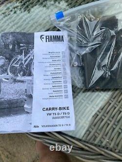 Fiamma Carry-Bike Rack Vw Transporter T5 and T6 Double Twin Barn Rear Doors