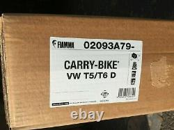 Fiamma VW Transporter Bike Rack T5 and T6 Double Twin Barn Rear Doors