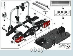 Genuine BMW Compact (Folding) Rear eBike Carrier (x2 Bikes) Mounting Tray. Pro2