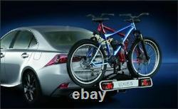 Genuine Lexus 13 PIN Tow Bar Mounted Rear Bicycle Holder 2 Bikes PZ41B0050200