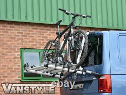 Genuine Vw T6 4 Bike Bicycle Rack For Tailgate Models + Uprated 1200n Struts