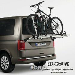 Genuine Vw Volkswagen T6 6.1 Transporter Caravelle Bike Rack 7e0 071 104