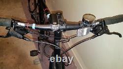 Hoy Shizouka Mens Hybrid Bike -2018/21 XL Frame /18 Speed/rear /rack & Lights
