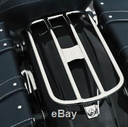 Indian Motorcycle Chrome Solo Luggage Rack For 2015-2020 Scout, Scout Sixty