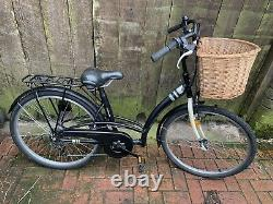 Ladies Btwin Bicycle With Basket And Rear Rack