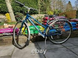 Ladies bike Raleigh Nottingham rear rack, mudguards, Kickstand & lock