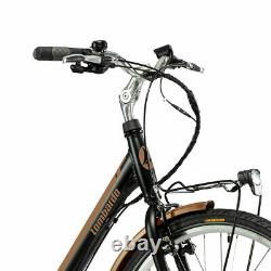 Lombardo Levanzo Heritage City E-bike 7 Speed Rear Hub Led Screen Rack Mount 18
