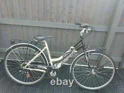 Lombardo Ortler 100 Ladies Hybrid Bike With Front And Rear Pannier Racks
