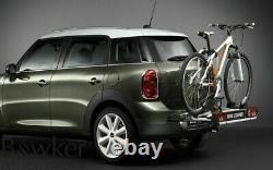 MINI Genuine R60 Rear Bike Rack System Click On 2 Bicycles 15kg 82722230146