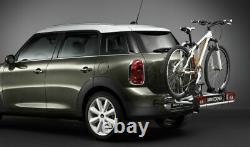 MINI Genuine Rear Bike Rack System Click On 2 Bicycles 15kg 82722230146