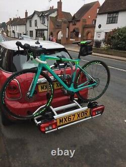 MINI genuine rear mounted bike rack 2 bikes