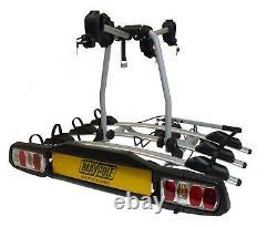 Maypole 4 Bike Carrier Towbar Towball Rear Cycle Rack BC3024