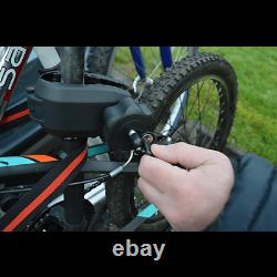 Maypole Towball Mounted Car Rear Tow Bar Cycle Holder 2 Bike Carriers