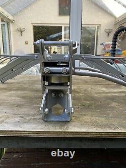Mottez rear 4 Bike Rack towbar mounted