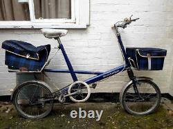 Moulton Deluxe Bike, 4 Speed, With Front & Rear Racks & Bags