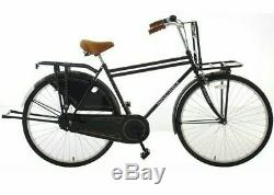 NEW Hollandia Opa 28 Dutch Cruiser Single Speed 28 Bicycle with Rear Rack