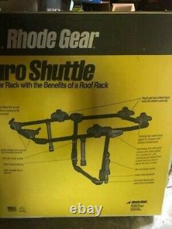 New RHODE GEAR Euro Shuttle Rear Rack with the Benefits of a Roof Rack 2-Bike