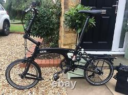 Ori (Mezzo) Mi8 Folding Bike 16 Wheels Incl. Rear Rack Bag & Storage/carry Bag