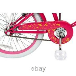 Our Generation 20 Inch Bike with White basket and rear wheel rack